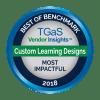 TGaS Most Impactful Vendor 2018