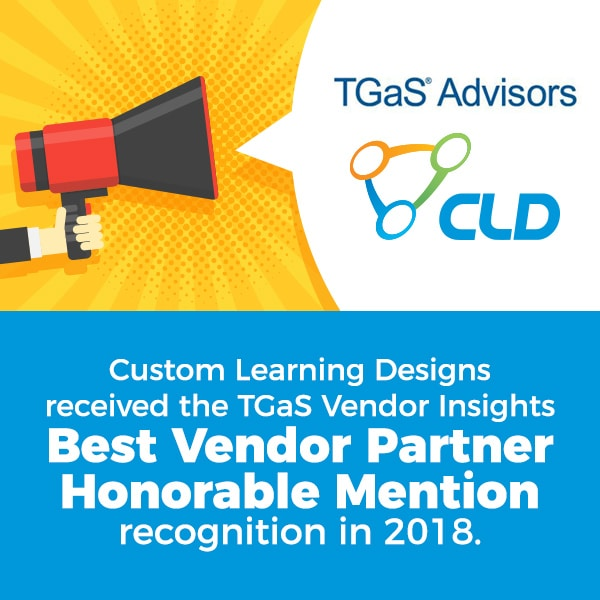 TGas Vendor Insights Best Vendor Partner Honorable Mention 2018