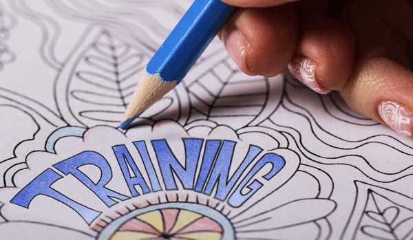 Sales Training Coloring Book